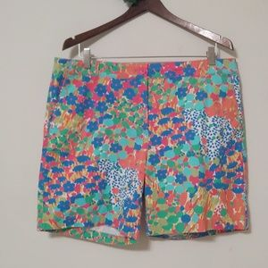 Talbots The Weekend Flower Print shorts